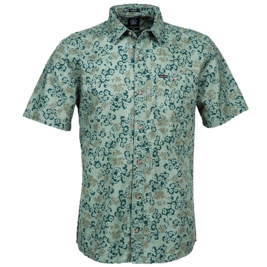 Volcom Donnie Short Sleeve Shirt - Forest