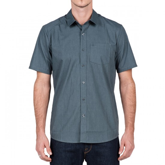Volcom Everett Solid Short Sleeve Shirt - Putty