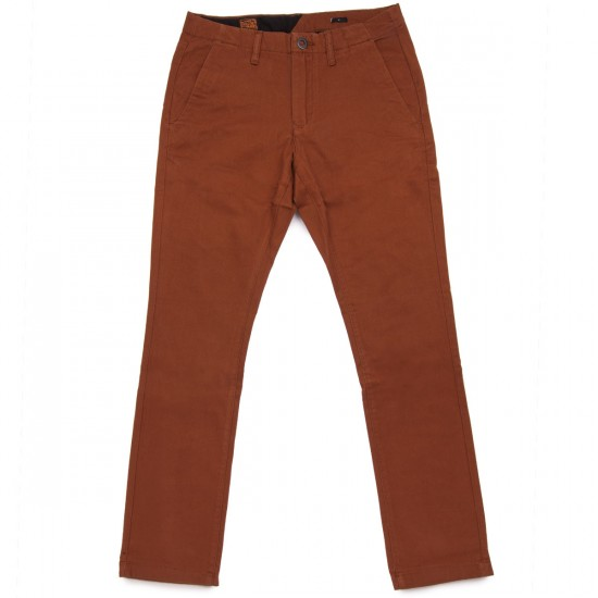 Volcom Faceted Pants - Chestnut Brown