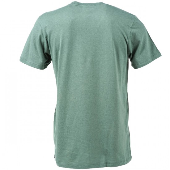 Volcom Falling Hand Short Sleeve T-Shirt - Forest