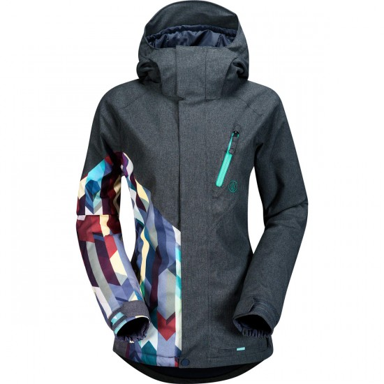 Volcom Fawns Insulated Women's Jacket 2015 - Brushed Nickel