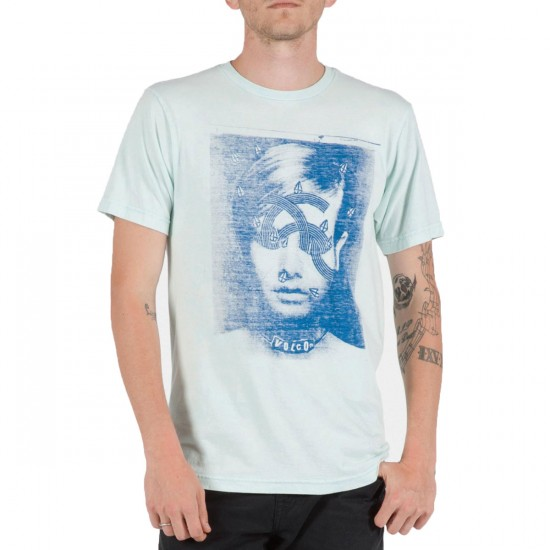 Volcom Figgs T-Shirt - Light Blue