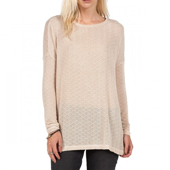 Volcom Free To Go Crew Sweater - Almond
