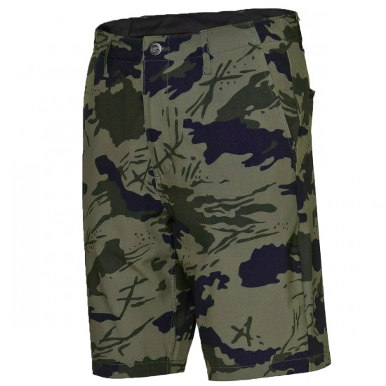 Volcom Frickin Mixed Shorts - Army