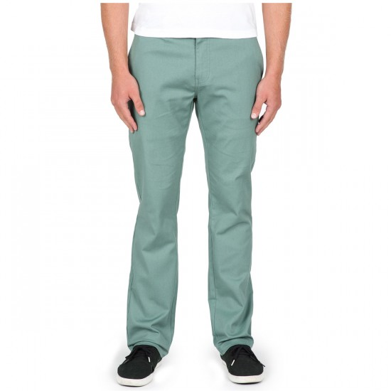 Volcom Frickin Modern Stretch Chino Pants - Forest