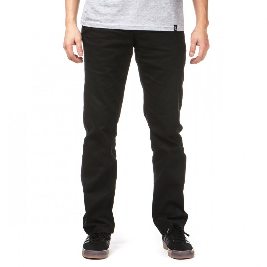 Volcom Frickin Modern Stretch Pants - Black - 28 - 32