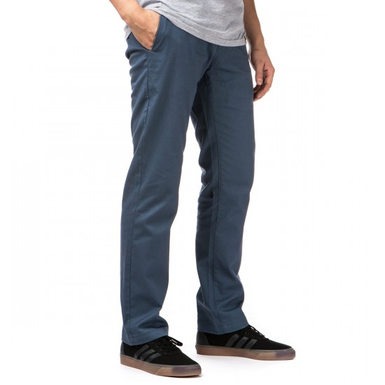 Volcom Frickin Modern Stretch Pants - Grey Blue - 28 - 32