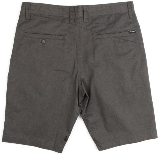 Volcom Frickin Modern Stretch Shorts - Charcoal Heather
