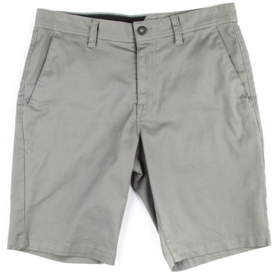 Volcom Frickin Modern Stretch Shorts - Moonbeam