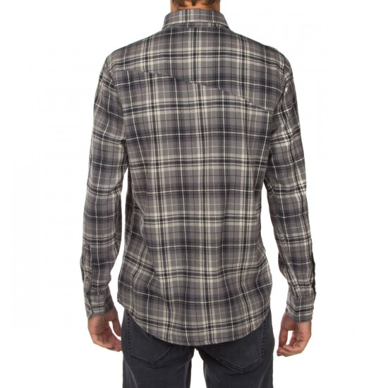 Volcom Gates Long Sleeve Shirt - Dark Grey