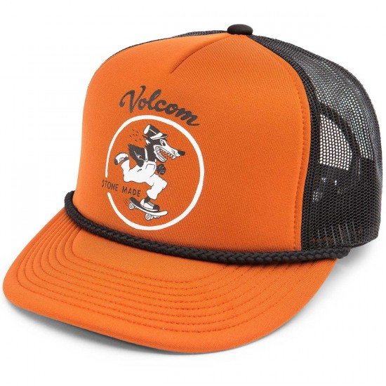 Volcom Grated Cheese Boys Hat - Auburn