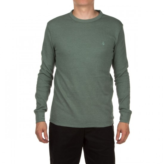 Volcom Hawkins Thermal Shirt - Forest
