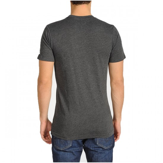 Volcom Heather S/S T-Shirt - Heather Black