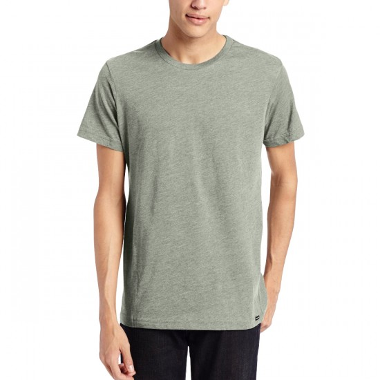 Volcom Heather Solid T-Shirt - Thyme Green