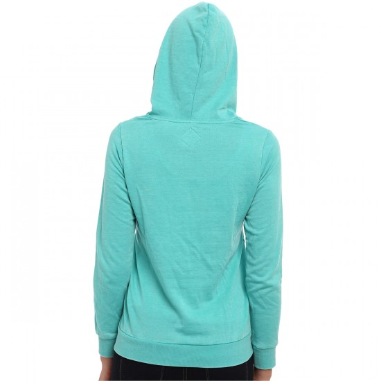 Volcom Here With You Women's Hoodie - Bright Turquoise