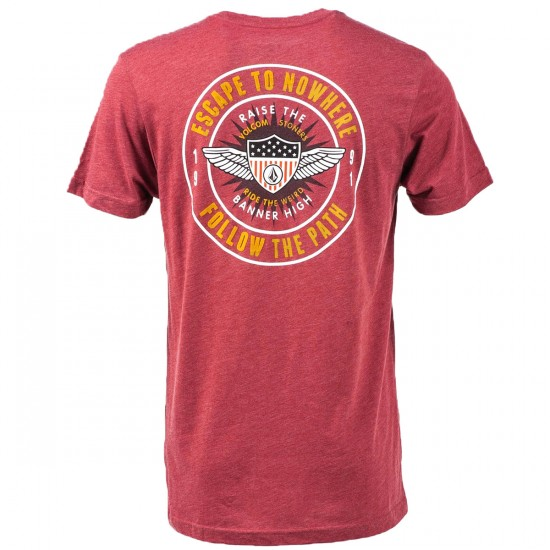 Volcom Jamboree T-Shirt - Crimson