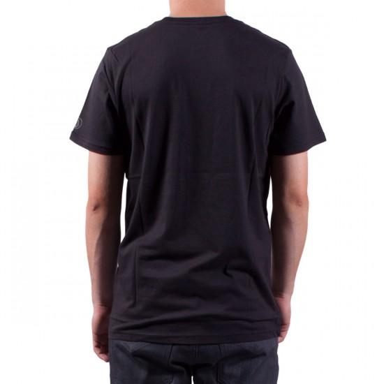 Volcom Label Stone T-Shirt - Black