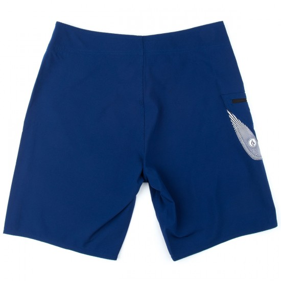 Volcom Lido Solid Boardshorts - Matured Blue