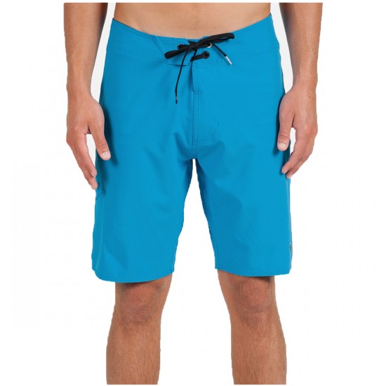 Volcom Lido Solid Boardshorts - Stormy Blue