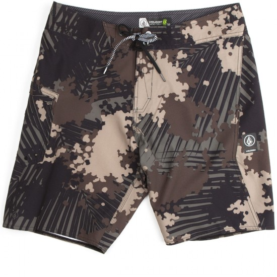 Volcom Lido Solid Modern Boardshorts - Camouflage