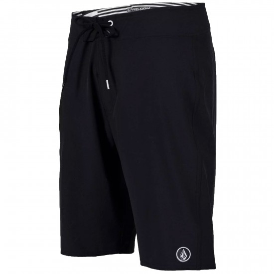 Volcom Lido Solid Shorts - Black