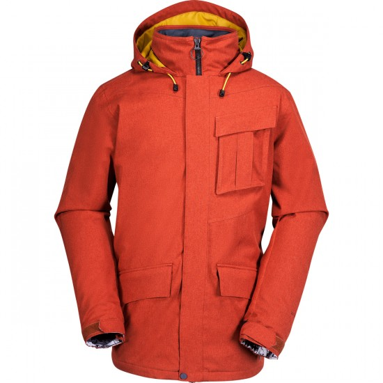 Volcom Mails Insulated Jacket 2015 - Rust