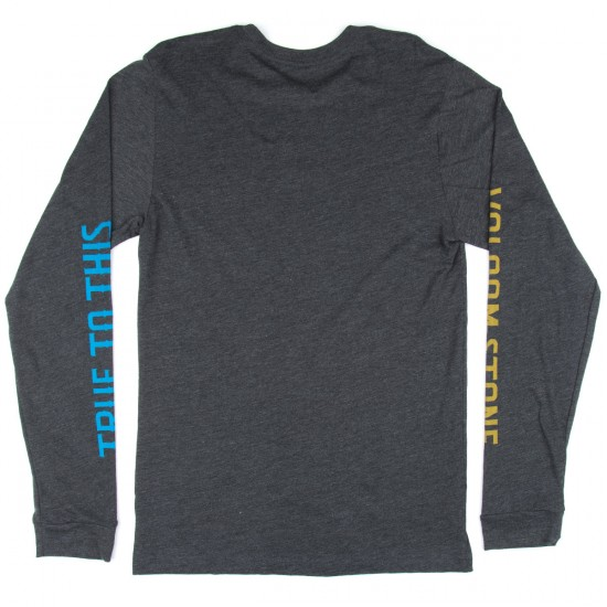 Volcom Marune Long Sleeve T-Shirt - Heather Black