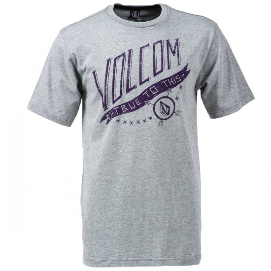 Volcom Mericana T-Shirt - Heather Grey