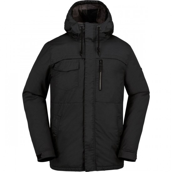 Volcom Monrovia Insulated Snowboard Jacket - Black
