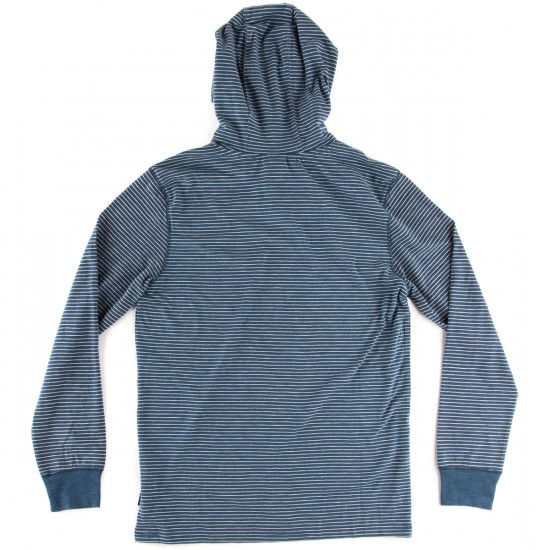 Volcom Murphy Stripe Long Sleeve T-Shirt - Smokey Blue