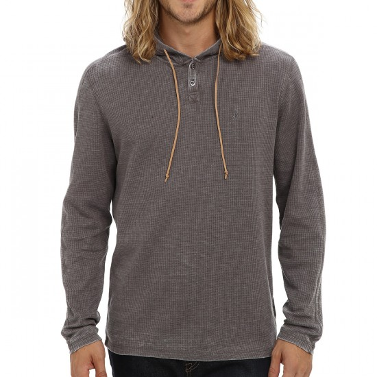 Volcom Big Youth Murphy Thermal Shirt - Black