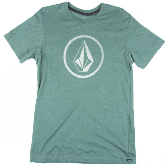 Volcom New Circle Boys T-Shirt - Forest