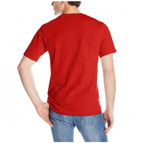 Volcom New Circle Youth T-Shirt - Drip Red