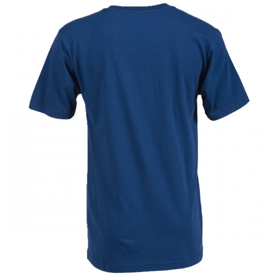 Volcom New Circle T-Shirt - Matured Blue