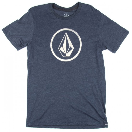 Volcom New Circle T-Shirt - Navy
