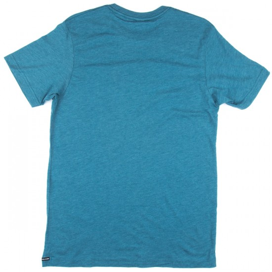 Volcom New Circle T-Shirt - Sun Faded Indigo