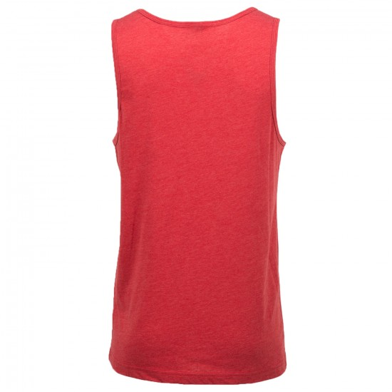 Volcom New Style Tank Top - Drip Red Heather