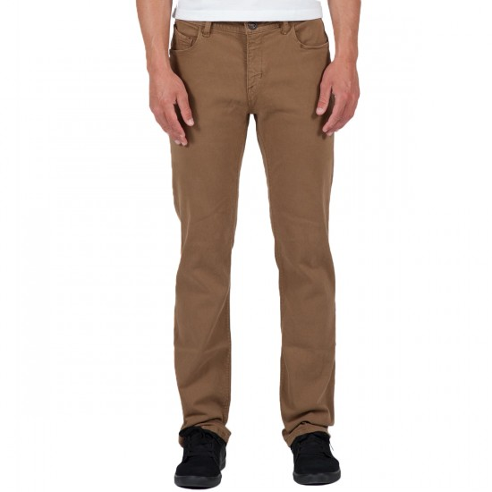 Volcom Nova Solver Pants - Hide Brown S Gene