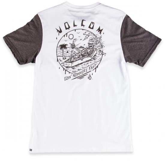 Volcom Nowhere T-Shirt - White