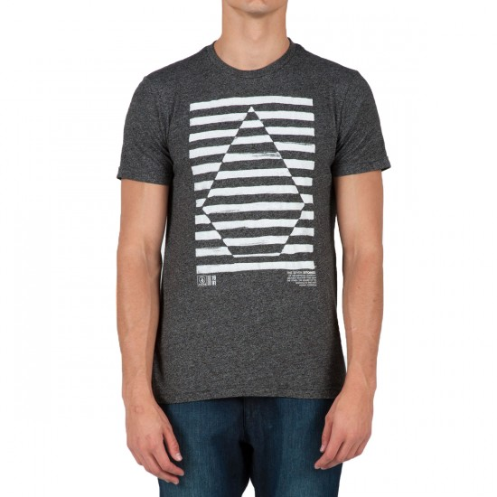 Volcom Opposites Extract T-Shirt - Charcoal Heather