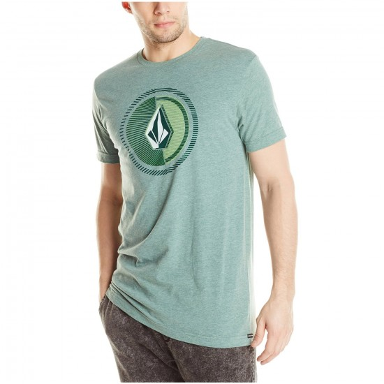 Volcom Overload Short Sleeve T-Shirt - Grass Green Heather