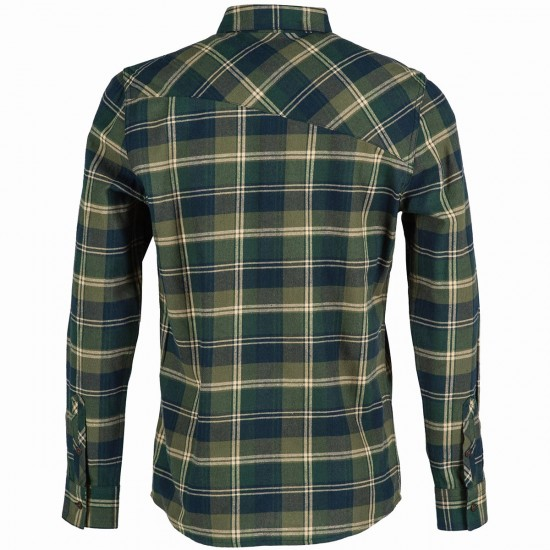 Volcom Pablo Long Sleeve Shirt - Expedition Green