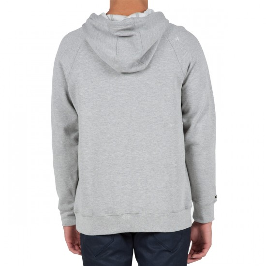 Volcom Pulli Classic Slim Zip Hoodie - Heather Grey