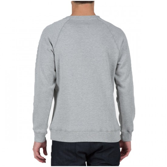 Volcom Pulli Crew Sweatshirt - Heather Grey