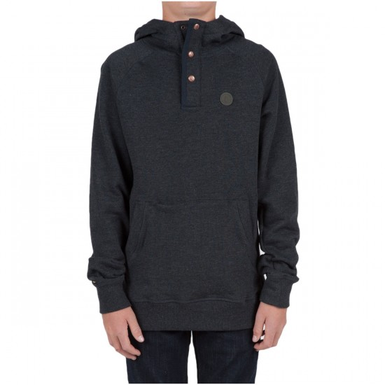 Volcom Pulli Youth Pullover Hoodie - Black