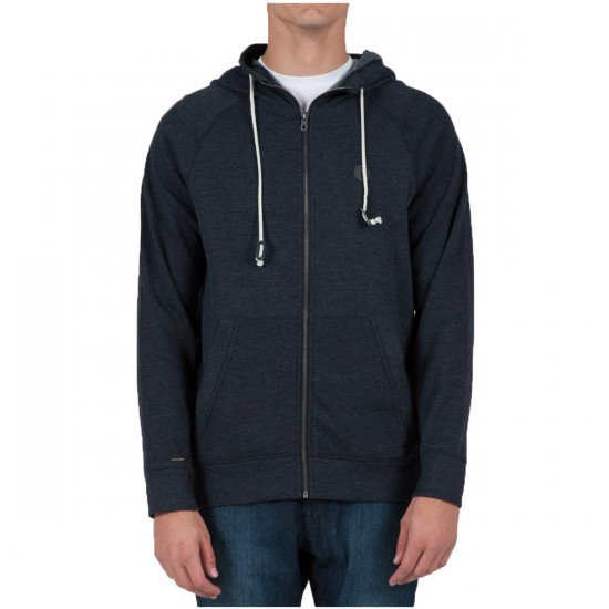 Volcom Pulli Zip Up Hoodie - Black
