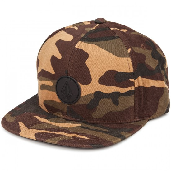 Volcom Quarter Fabric Hat - Dark Khaki