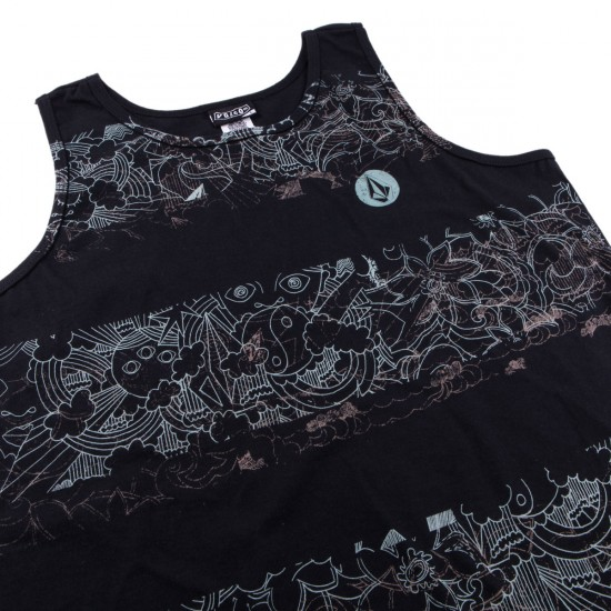 Volcom Rad Dazze Youth Tank Top - Black