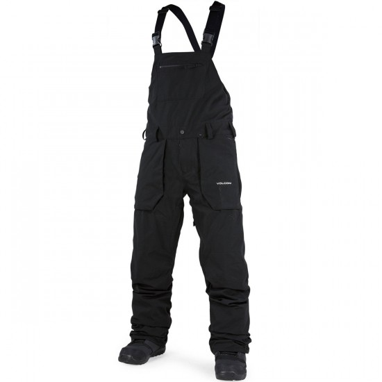 Volcom Roan Overall Snowboard Pants - Black