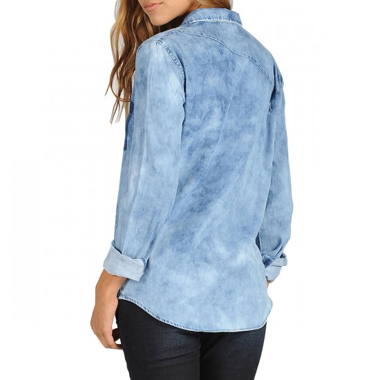 Volcom Rolling High Long Sleeve - Indigo